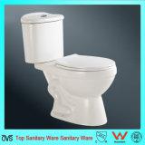 Meilleur prix tasse de toilette à deux pièces de couleur blanche
