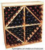 Cremagliere di visualizzazione modulari del vino dello scomparto del diamante con accatastabile