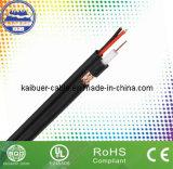 Preço de fábrica CCTV / Catc dupla Siamese Rg59b / U cabo coaxial com Power