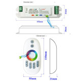 DC12-24V Wireless 2.4G Plastic Shell Touch RGBW LED Strip Controller