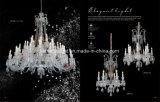 Hôtel de luxe Décoration Crystal lampadaire (ML9830-16-8+8)