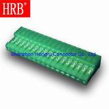 Conector IDC de la echada del color verde 2.54