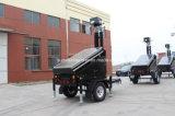 Солнечный трейлер CCTV, трейлер Vts1200c камеры слежения, передвижная обеспеченность