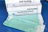 Sacchetto autosigillante piano di sterilizzazione della saldatura a caldo medica a gettare