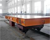 Factory Railway flat car para el transporte de la tubería de acero