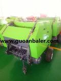 Mini presse ronde de foin à vendre la presse de fourrage vert de presse d'herbe