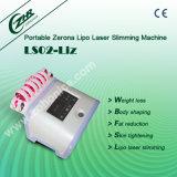 Ls-02, 10 Pads Lipolaser cuerpo adelgaza la belleza de la máquina con 650nm/940nm láser de diodos