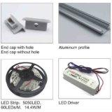 Pn4149 LED empotrable de suelo de aluminio perfil de iluminación