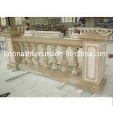 Balustre de jardin extérieur, escalier en pierre de granit Banister, G654 Balustrade & Railings