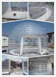 Tenda di campeggio gonfiabile trasparente della cupola del prato inglese del PVC