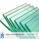 Vidro temperado / temperado claro para Fishbowl / porta / escada de vidro