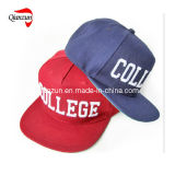 College Snapbacks rebord plat des casquettes de baseball
