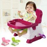 Assento de elevador de bebê colorido para jantar sentado