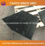 Plaque d'usure avec surfacer dur le recouvrement de carbure de chrome