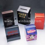 L'enregistrement des organismes de bienfaisance de l'argent Muticolor acrylique Box