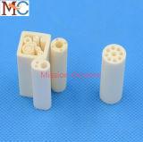 Tubo di ceramica dell'isolante di ceramica dell'allumina