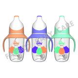 Pp.-Nahrungsmittelgrad-reizende Bären-Serien-führende Flasche ohne den Griff 240ml, der Baby mit der Flasche füttert
