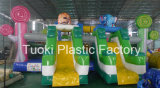 クレヨンカラー動物の膨脹可能な公園の/Lollipop Playlandのトランポリン(RC-013)