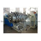SGS/Ceの証明書の押出機(TPEG-160)が付いているプラスチックHDPEのガスおよび配水管の放出ライン