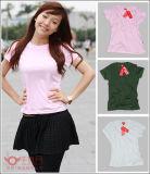 В корейском стиле моды настроить футболка