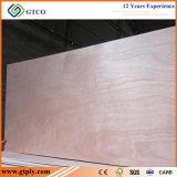 Madera contrachapada de la piel de la puerta de la talla Plywood/820X2150X2.7mm de la puerta de Sapele