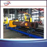 De ronde Kruising die van de Pijp de Buizensnijmachine van het Staal van het Plasma Machine/CNC snijden