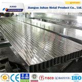 Pipe carrée d'acier inoxydable de Rectangulard de SUS (304 316)