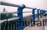 Toute la rambarde normale de pont en acier inoxydable