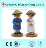 Figura Figurine da região do estilo asiático vária da mascote da lembrança de Polyresin