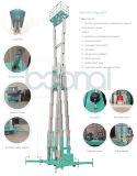 Multi plataforma de trabalho aéreo dos mastros (altura máxima 22 medidores)