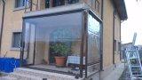 Película transparente do PVC para o toldo, o pátio, as cortinas & as máscaras