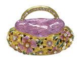 Coffret à bijoux en alliage, coffret à bijoux de mode (15)