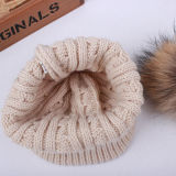 Nuevo diseño OEM para la llegada del invierno la moda tejida a mano Beanie Hat