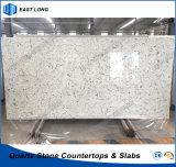 De Stevige Oppervlakte van de Steen van het kwarts voor Countertop van de Keuken met Uitstekende kwaliteit (Marmeren kleuren)