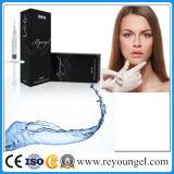 Haut de la vente d'acide hyaluronique Derm Reyoungel Derm de remplissage de 1 ml/2ml pour modérer les rides