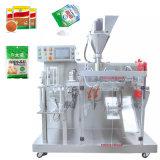 Automatische multifunctionele voorgemaakte zak met etui Plaatsingspoeder/fluur/granules Packaigng machine