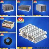 Dissipatore di calore di alluminio sporto per l'unità a semiconduttore di potere