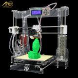 기계를 인쇄하는 Anet A8-T 투명한 3D 인쇄 기계 높은 정밀도 Fdm DIY 3D