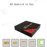 doos van TV van manier de Spaanse Kanalen IPTV E8 Model dan beter Mxq PRO