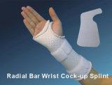 De radiale Cock-up van de Pols van de Staaf Thermoplastische Voorgesneden Splinter van de Splinter