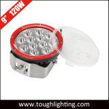 """9"""" de alta potencia 120W Ronda Impermeable IP67 LED CREE las luces de conducción de trabajo"""