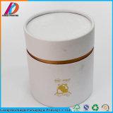 Коробка цилиндрического подарка картона высокого качества упаковывая