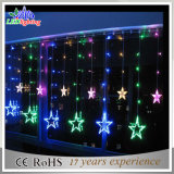 Colorida decoración exterior Navidad LED luces de la cadena de lujo