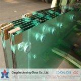 Flaches Hartglas für kugelsicheres Glas mit Bescheinigung