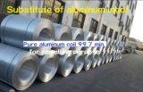 純粋なアルミニウムコイル99.7 Min.