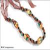 Colar de coral de moda (estilo oriental) (N500)