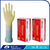 Стоматологическая молочно-белого цвета с помощью медицинского обследования Латексные перчатки