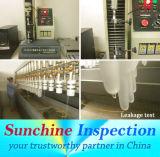 Controllo di qualità dei guanti a gettare e prova/certificato controllo di Pre-Shipment