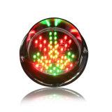 Mini semaforo personalizzato del rimontaggio 125mm LED di traffico della freccia