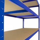 Cremalheira nivelada das prateleiras ajustáveis do armazenamento 5 de aço resistentes do metal da garagem da prateleira
